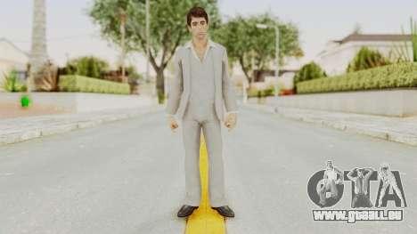 Scarface Tony Montana Suit v1 für GTA San Andreas zweiten Screenshot