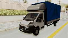 Fiat Ducato Work Van v2 pour GTA San Andreas