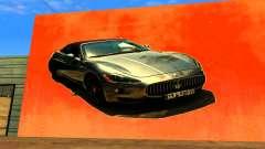Maserati Wall Grafiti pour GTA San Andreas