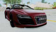 Audi R8 Spyder 2014 LB Work