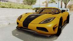 Koenigsegg Agera 2016 from ENF pour GTA San Andreas