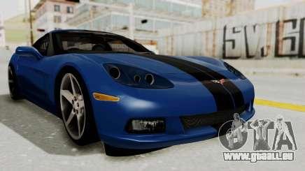 Chevrolet Corvette C6 pour GTA San Andreas