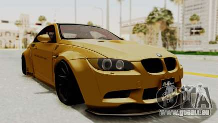 BMW M3 E92 Liberty Walk pour GTA San Andreas