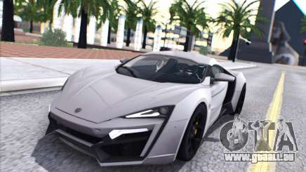W Motors Lykan Hypersport 2015 HQ pour GTA San Andreas