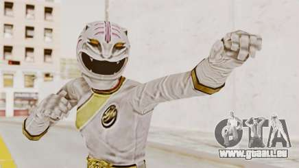 Power Rangers Wild Force - White pour GTA San Andreas
