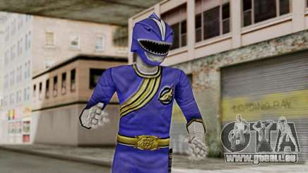 Power Rangers Wild Force - Blue pour GTA San Andreas