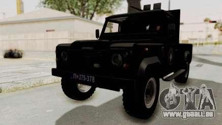 Land Rover Defender SAJ für GTA San Andreas
