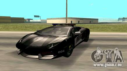 Lamborghini Reventon Police pour GTA San Andreas