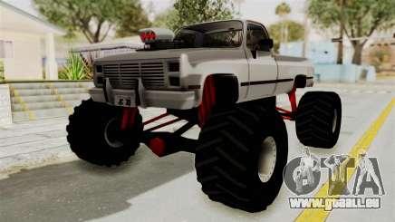 Chevrolet Silverado Classic 1985 Monster Truck pour GTA San Andreas