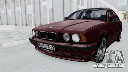 BMW 525i E34 1994 LT Plate pour GTA San Andreas