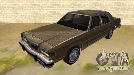 Mercury Grand Marquis 1986 v1.0 für GTA San Andreas
