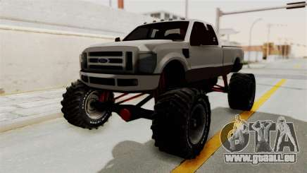 Ford F-350 Super Duty Monster Truck pour GTA San Andreas
