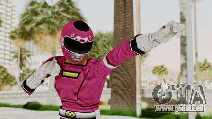 Power Rangers Turbo - Pink pour GTA San Andreas