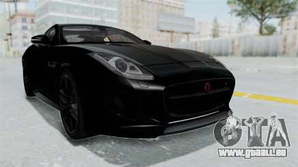 Jaguar F-Type Coupe 2015 für GTA San Andreas
