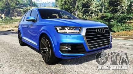 Audi Q7 2015 [rims2] für GTA 5