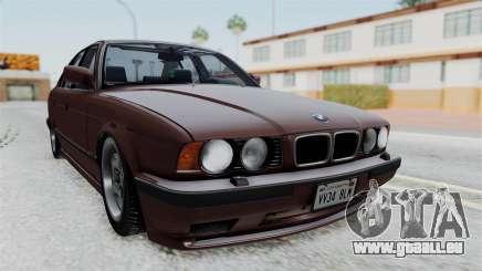 BMW 525i E34 1994 SA Plate pour GTA San Andreas