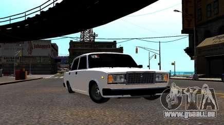 VAZ 2107 BPAN pour GTA 4