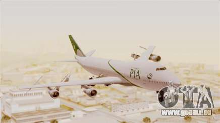 Boeing 747-200 Pakistan International für GTA San Andreas