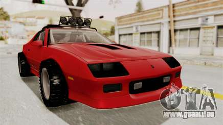 Chevrolet Camaro 1990 IROC-Z Rusty Rebel für GTA San Andreas