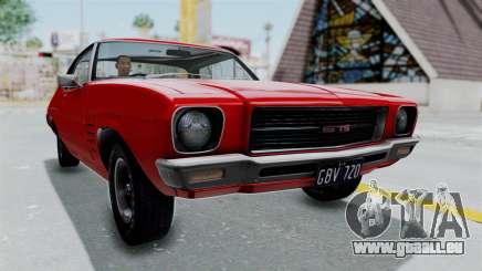 Holden Monaro GTS 1971 AU Plate HQLM pour GTA San Andreas