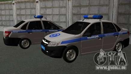 Lada Granta Private Sicherheit für GTA San Andreas