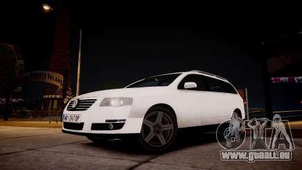 Volkswagen Passat Variant 2010 V1 pour GTA 4