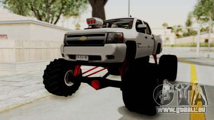 Chevrolet Silverado 2011 Monster Truck für GTA San Andreas