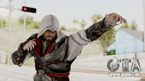 AC Brotherhood - Ezio Auditore Seusenhofer Armor pour GTA San Andreas