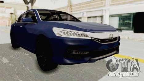 Honda Accord 2017 pour GTA San Andreas