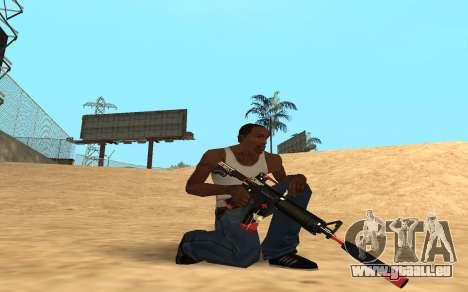 M4 Cyrex pour GTA San Andreas