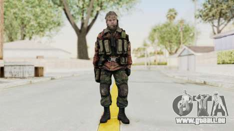 Battery Online Russian Soldier 2 für GTA San Andreas zweiten Screenshot