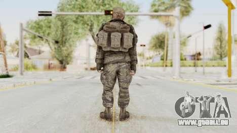 COD BO SOG Hudson v2 für GTA San Andreas dritten Screenshot