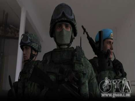 Modern Russian Soldiers pack pour GTA San Andreas
