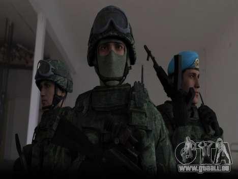 Modern Russian Soldiers pack für GTA San Andreas