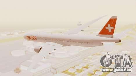Boeing 777-300ER Swiss International Air Lines pour GTA San Andreas laissé vue