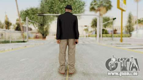 Walter White Heisenberg v1 GTA 5 Style pour GTA San Andreas troisième écran
