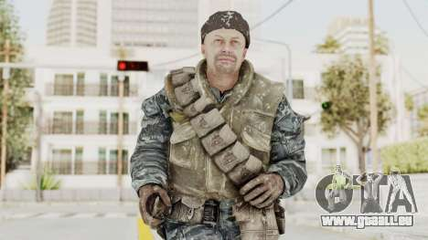 COD BO Russian Spetznas Flak MP v3 pour GTA San Andreas