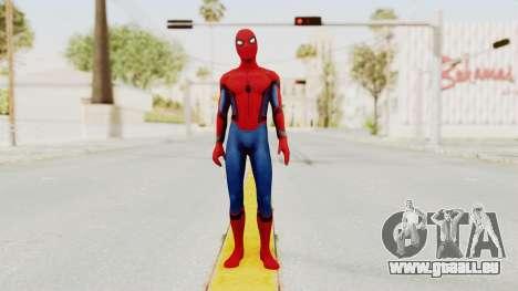 Marvel Heroes - Spider-Man (Civil War) pour GTA San Andreas deuxième écran