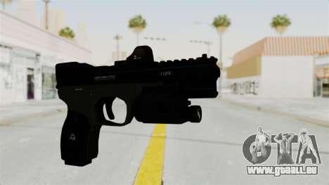 Killzone - M4 Semi-Automatic Pistol für GTA San Andreas