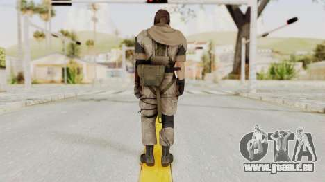 MGSV The Phantom Pain Venom Snake Scarf v3 für GTA San Andreas dritten Screenshot