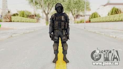 CoD MW3 SAS pour GTA San Andreas deuxième écran