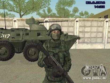 Modern Russian Soldiers pack für GTA San Andreas her Screenshot