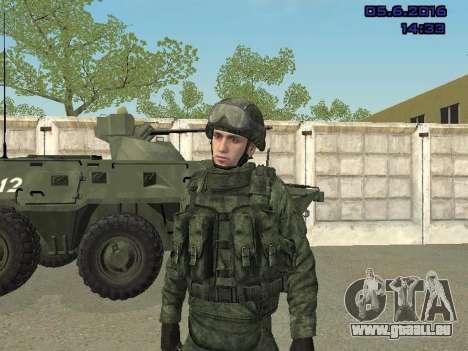 Modern Russian Soldiers pack für GTA San Andreas neunten Screenshot