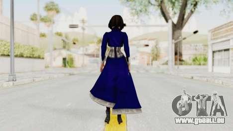 Bioshock Infinite Elizabeth Corset pour GTA San Andreas troisième écran