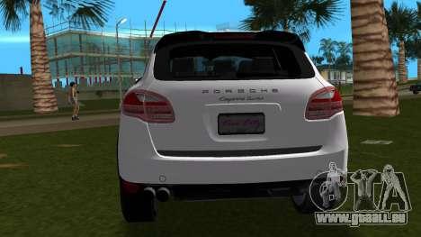 Porsche Cayenne 2012 pour une vue GTA Vice City de la droite