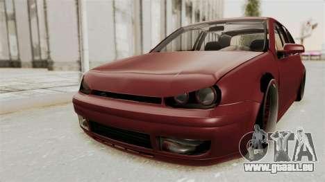 Volkswagen Golf Mk4 V5 Edited für GTA San Andreas