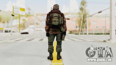 Battery Online Russian Soldier 2 für GTA San Andreas dritten Screenshot