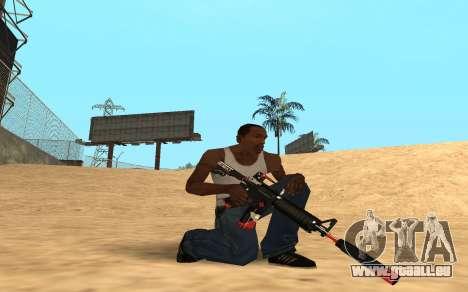 M4 Cyrex pour GTA San Andreas deuxième écran