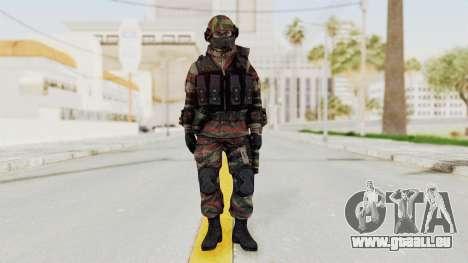 Battery Online Russian Soldier 6 pour GTA San Andreas deuxième écran