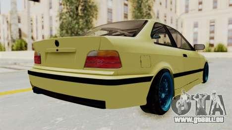 BMW M3 E36 Drift für GTA San Andreas linke Ansicht